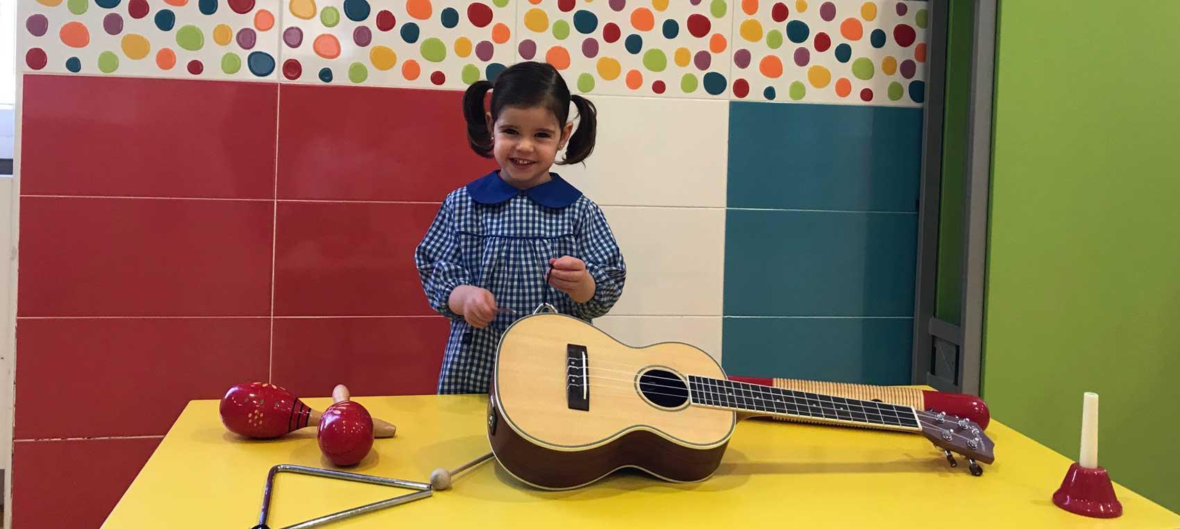 música en educación infantil